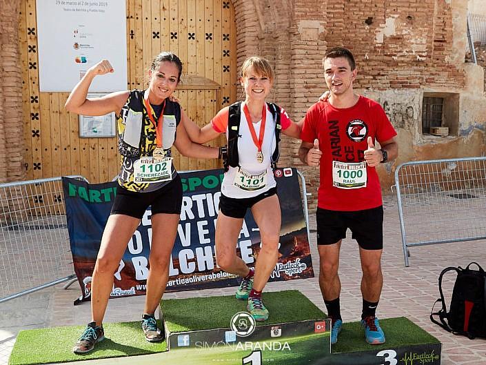 Desértica Olivera Belchite_ Medallas dos pruebas
